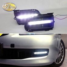 Voor Mazda 6 2006 2007 2008 2009 Dagrijverlichting Led Drl Fog Lamp Rijden Lichten Voorbumper Accessoires