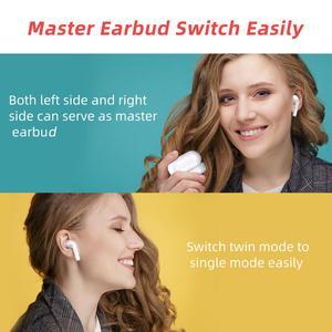 Image 3 - Mpow M21 Tws Oortelefoon Bluetooth 5.0 Draadloze Hoofdtelefoon 18 Uur Spelen Tiem Met Opladen Case Touch Control Oordopjes Voor Telefoon