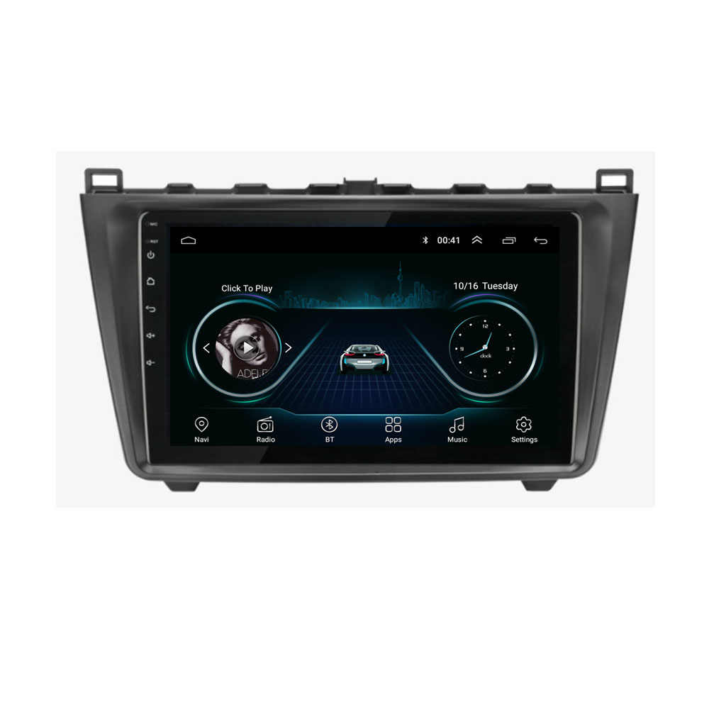 4G LTE Android 8.1 For Mazda 6 Rui wing 2008 2009 2010 2011 2012 2013 2014 Multimedia Stereo Car DVD Player Navigation GPS Radio