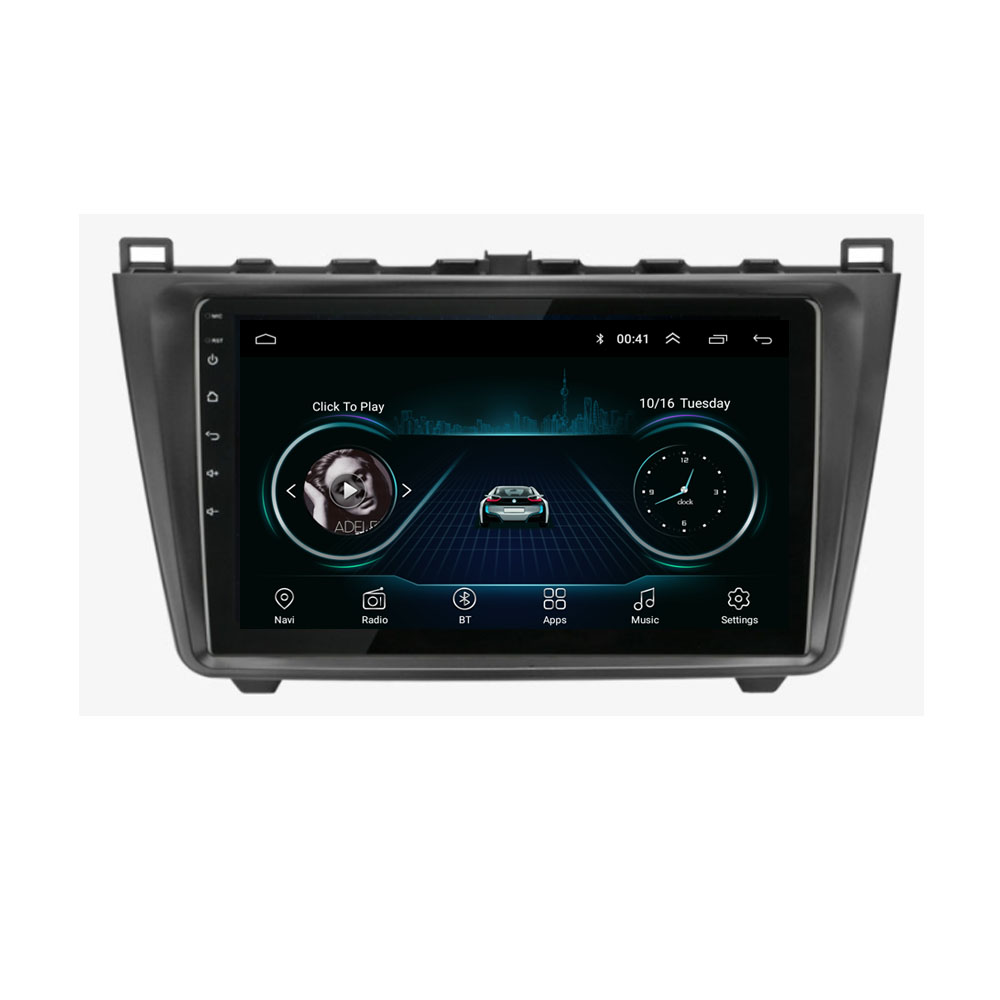 4G LTE Android 8.1 For <font><b>Mazda</b></font> <font><b>6</b></font> Rui wing 2008 2009 <font><b>2010</b></font> 2011 2012 2013 2014 Multimedia Stereo Car DVD Player Navigation GPS Radio image