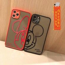 2021Disney original for iPhone 6Plus/XS/XR/XS Max 11/11 Pro / Max/12/12pro/12min12promax Minnie Mickey Phone Case cover  Liquid