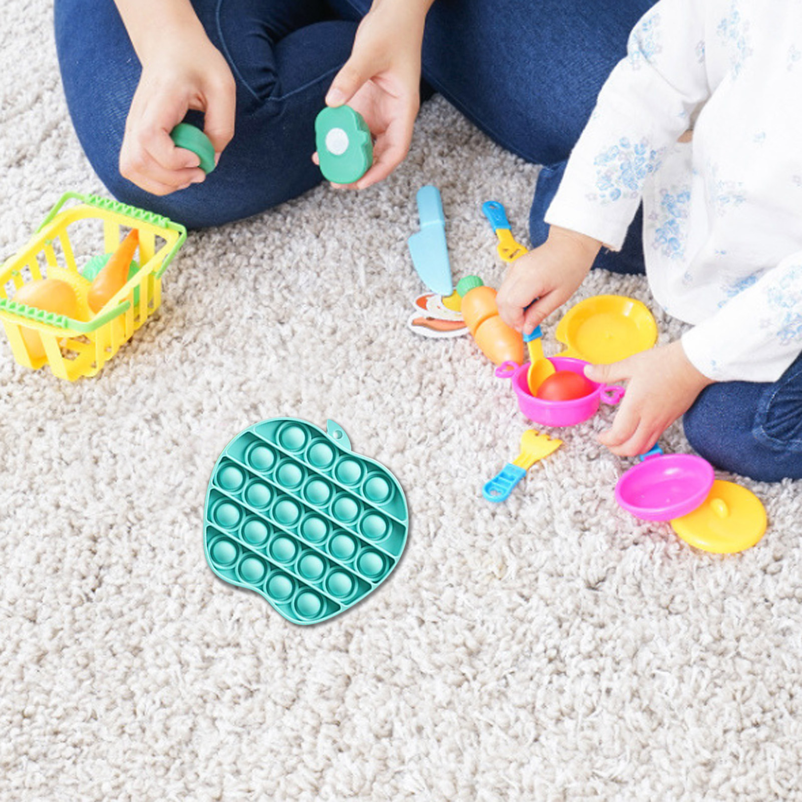 Adult Toys Fidget Rainbow Bubble-Sensory Squishy Pop-It Push-Pops Needs Anti-Stress Children img2