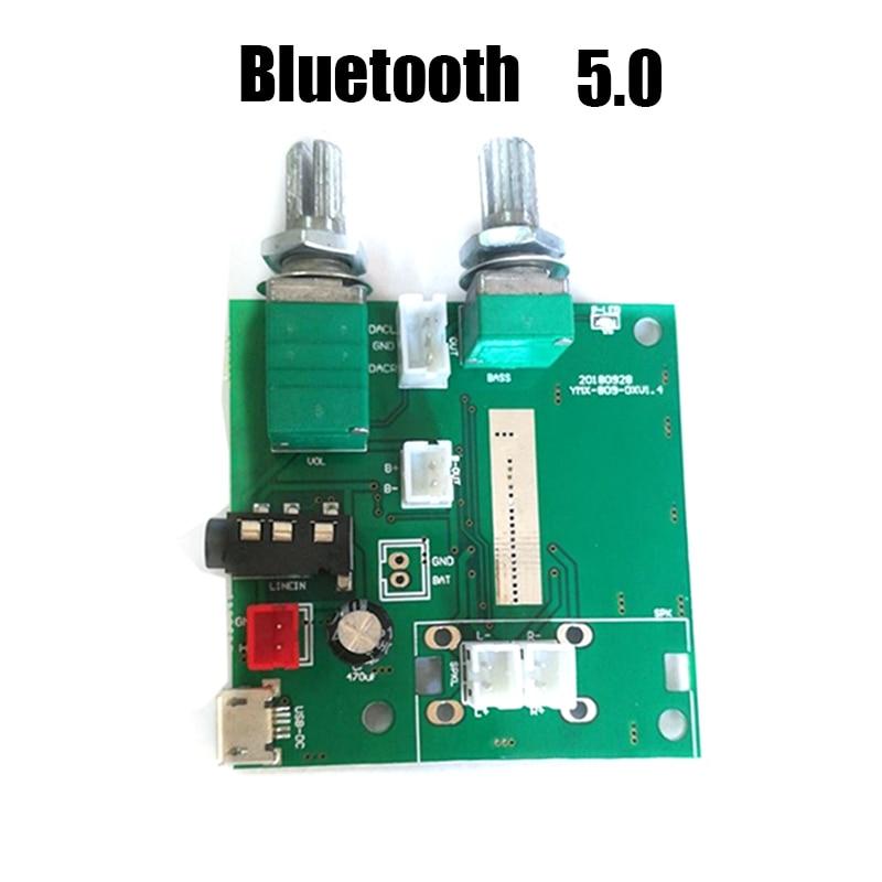 5,0 Bluetooth усилитель 5 Вт * 2 + 10 Вт 2,1 канальный стерео цифровой усилитель плата 5V3A с регулировкой басов