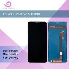 Para 2246*1080 ASUS ZenFone 5 ZE620KL X00QD LCD IPS pantalla LCD pantalla + Digitalizador de Panel táctil asamblea para Asus pantalla Original
