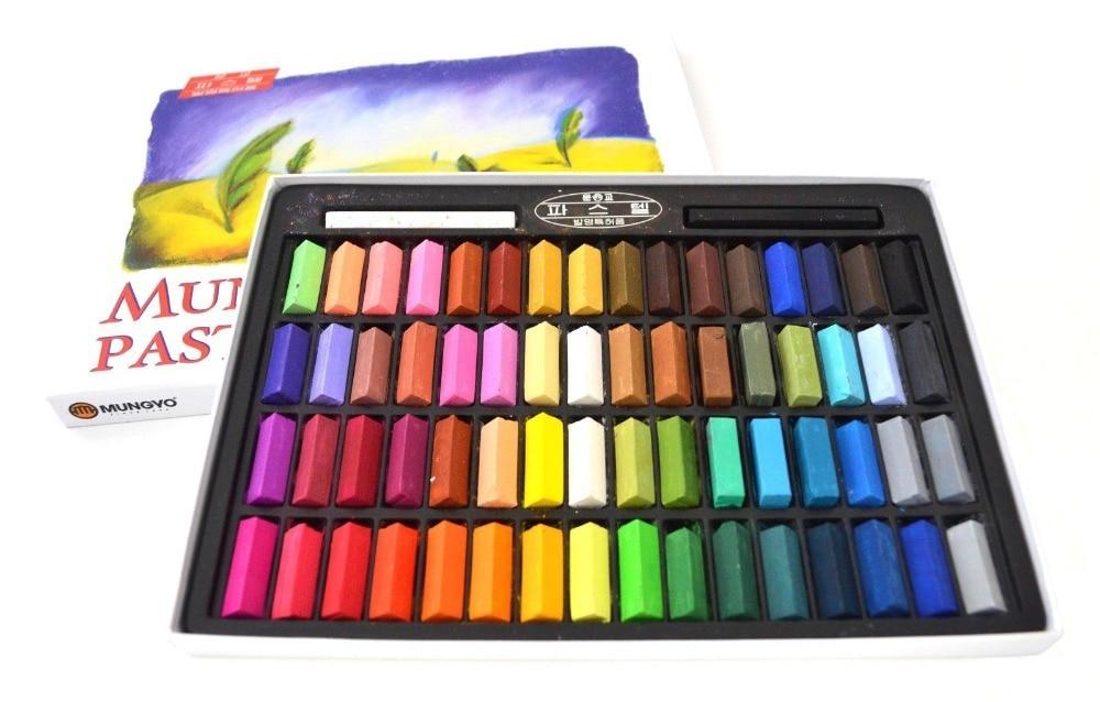 Mungyo Gallery Standard Soft Pastels Box Set of 32 Half Sticks Assorted Colors