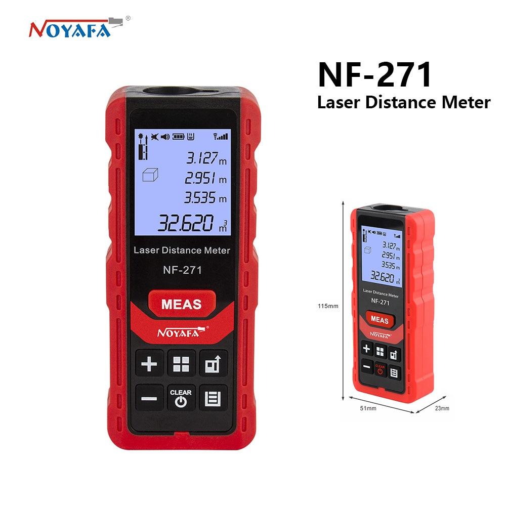 Лазерный дальномер Noyafa 50 м, 70 м, электронный лазерный цифровой дальномер, линейка, дальномер, измерительная лента, устройство