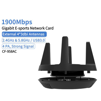 Gigabit 1900Mbps USB3.0 Wifi Adapter 802.11AC 5ghz High speed wi-fi wireless Network card Dual band PC Wifi Receiver Adapter