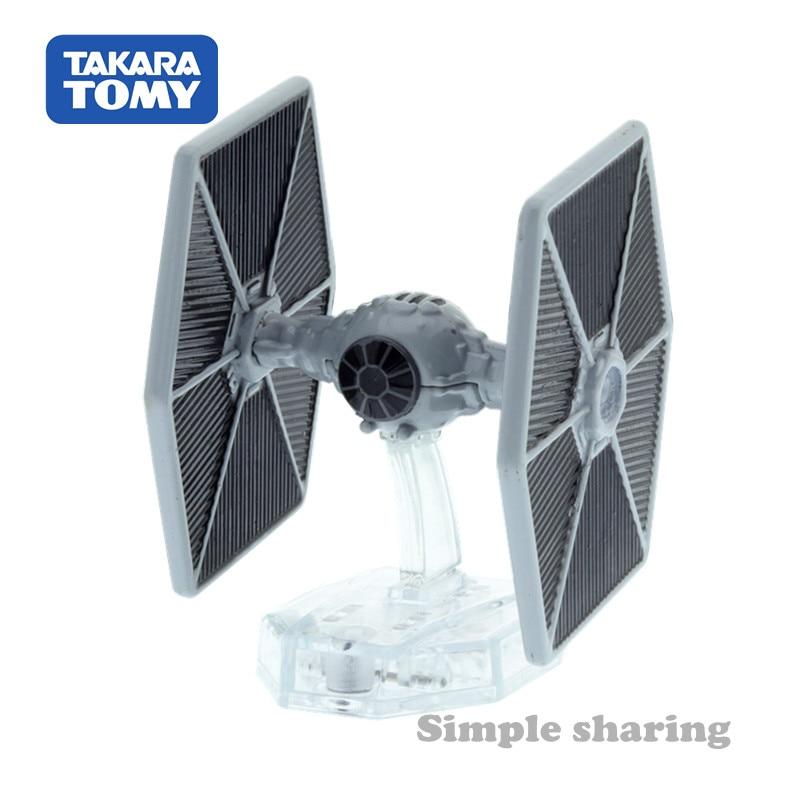 Takara Tomy Tomica Disney Star Wars Vehicle TSW-03 Tie Fighter Figure