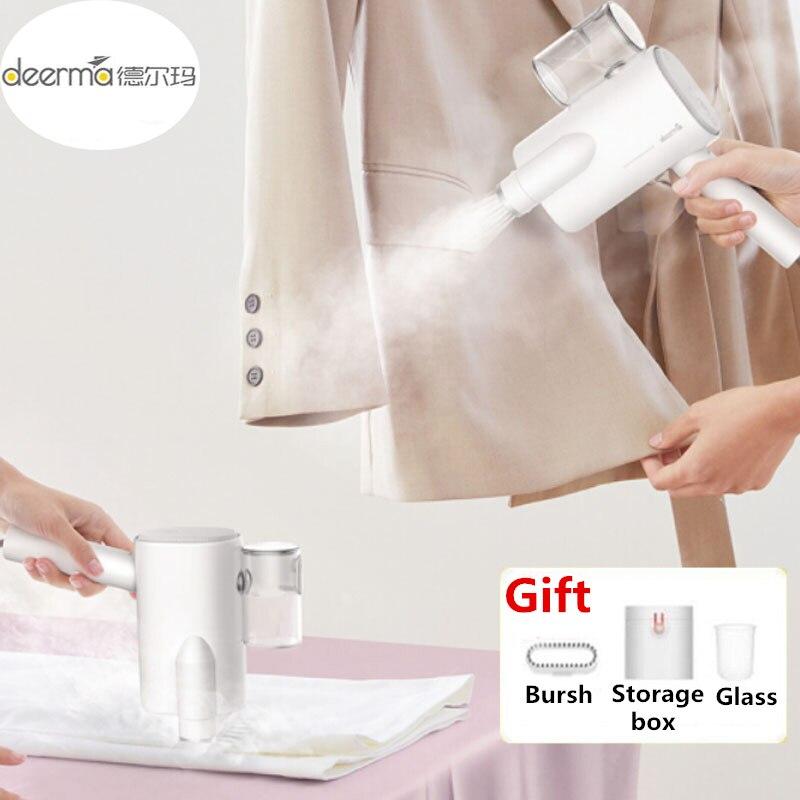 Xiaomi Deerma DEM-HS006 pliable à la main vêtement vapeur fer à vapeur ménage Portable petits vêtements stérilisation des rides