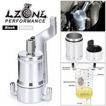 LZONE  0.18L Aluminum Oil Catch Can Tank With Baffle Plate For Dodge Ram 1500 2500 3500 5.7L 6.4L HEMI 2009 2019 JR OTK02