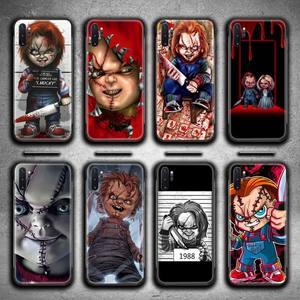 Filme de terror chucky caso telefone para samsung galaxy note20 ultra 7 8 9 10 plus lite j7 j8 plus 2018 prime