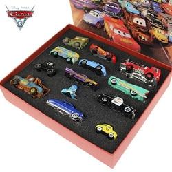 Caja de regalo Original de los coches 3 Mater Mac del camión del tipo 1:55 de los coches del modelo del Metal de la fundición Juguetes Para el regalo de cumpleaños de los niños