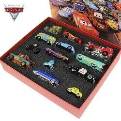 Original geschenk box Disney Pixar Autos 3 Mater Mack Onkel Lkw 1:55 Diecast Metall Auto Modell Spielzeug für kinder geburtstag geschenk