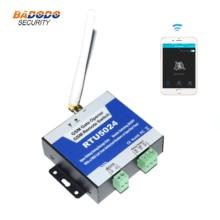 GSM 3G บน/ปิดประตูประตูรีโมทคอนโทรลรีเลย์เอาต์พุต RTU5024 สำหรับโรงรถเลื่อน Swing ประตูเปิด