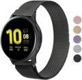 20 мм/22 мм Миланский ремешок для Samsung Active 2 40 мм шестерни S3 Frontier браслет Huawei GT/GT2/2e/Pro Galaxy watch 3/45/42/46 мм Длина браслета