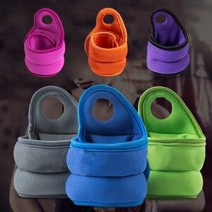 2 pièces 1kg marche marche main poignet poids sac de sable fer sable Invisible Fitness boxe équipement d'entraînement