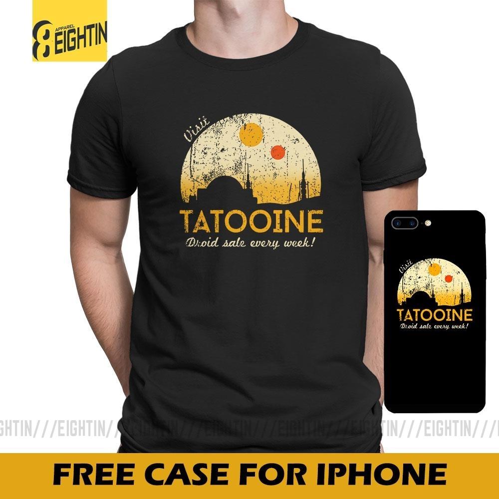 Visit Tatooine Men/'s T shirt White