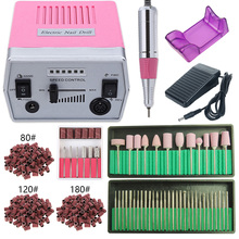 35000/20000 RPM Electric Nail Drill Machine Set Pedicure Manicure Strong Nail Drill Equipment Tools Gel Remover Milling Cutters