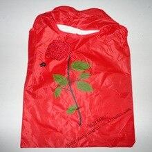 Горячая Распродажа, розовая сумка для покупок, лавсановая розовая сумочка, розовая реклама, Экологичная сумка, может быть напечатан логотип