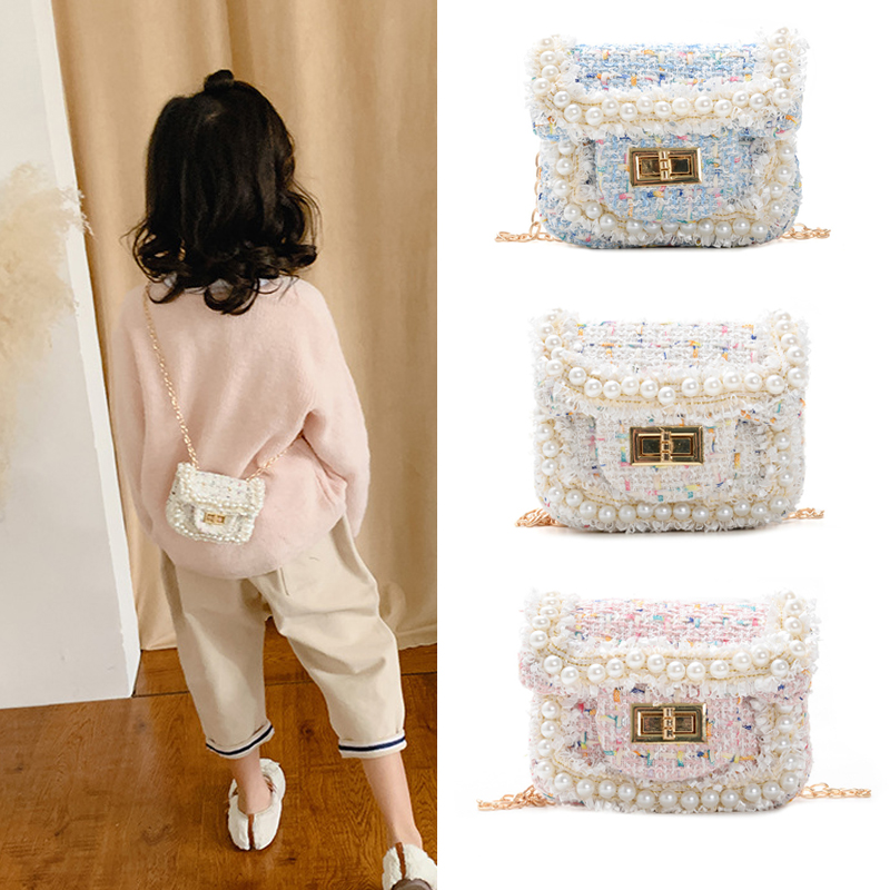 Kids Mini Leather Purse 2020 New Crossbody Bags For Baby Girls Kawaii Coin Wallet Pouch Box Kid Money Change Purses
