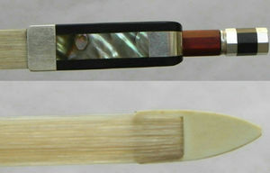 Image 3 - End top Cello Bow 4/4! End top Pernambuco Hout!