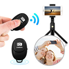 Universale Mini Bluetooth Selfie Remoto Android IOS Telefono Mobile Otturatore Della Macchina Fotografica di Bluetooth 4.0 Bastone Selfie Wireless Adattatore