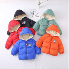 Baby Girls Jacket Autumn Winter Jacket For Girls Coat Kids Warm Hooded Outerwear Coat For Boys Jacket Coat Children Clothes fashion autumn winter jacket for boys children jacket kids hooded warm outerwear coat for boy clothes 2 10 year baby boys jacket