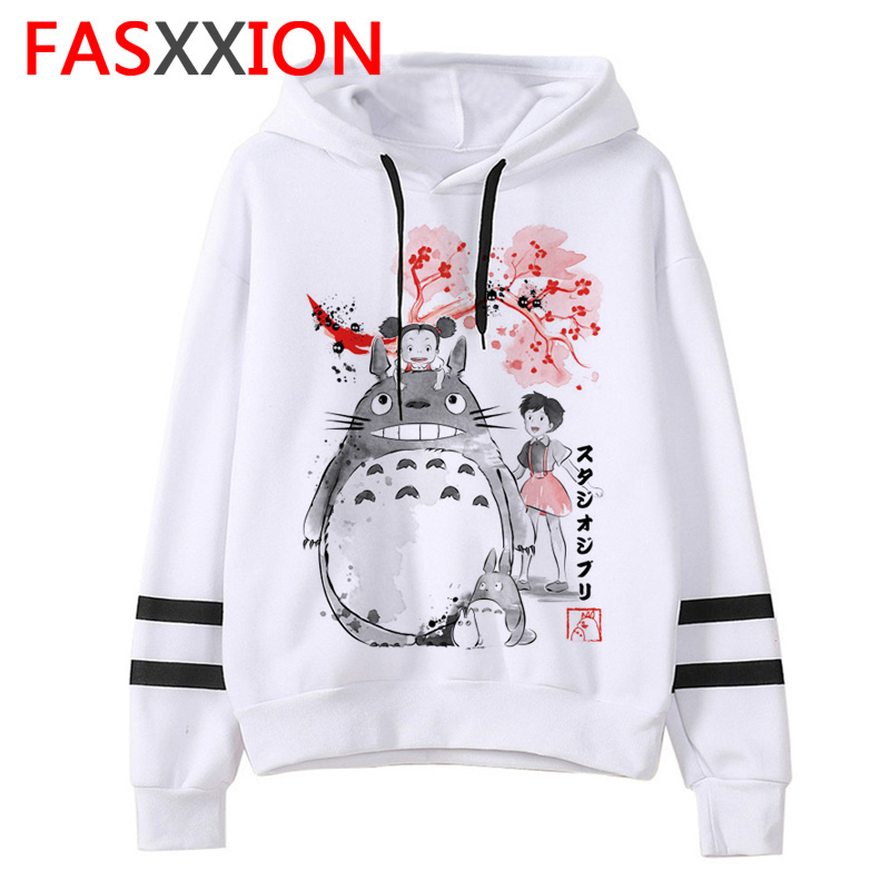 Totoro Men Hoodie Clothes New Cartoon Fashion Sweatshirt Male/women Harajuku Ulzzang Graphic Hooded Streetwear Funny Anime