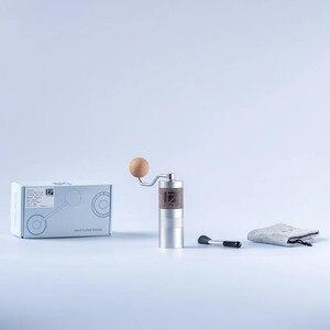 Image 5 - Новинка, портативная кофемолка из алюминиевого сплава 1 zat Q2, мини кофемолка, шлифовальный сердечник, очень ручной подшипник для кофе