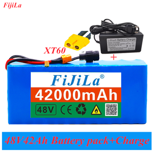 Battery-Pack Scooter Charger Electric-Bicycle-Battery E-Bike BMS 13S3P MH1 18650 1000watt