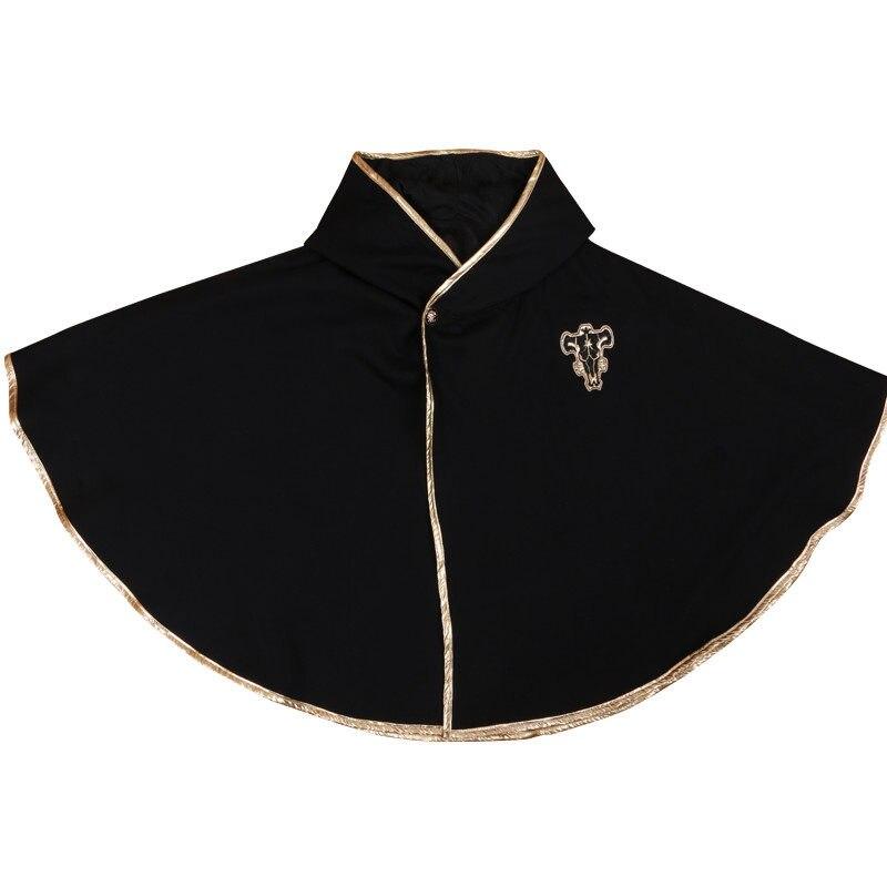 Anime Black Clover Astaa Cosplay Men Women Warm Plush Cloak Cape Siesta Air Condition Blanket Flannel Coat Shawl Autumn Winter 1