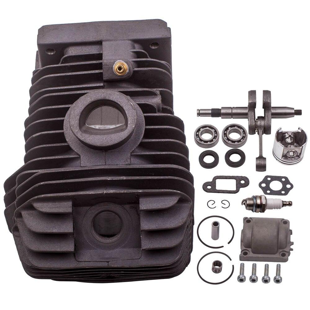 Kit de pistón del cigüeñal del cilindro del Motor de la motosierra de 42,5 MM para MS250 MS230 023 025 95030030340, 96380031581, 11230212500
