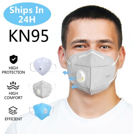 10P/50pcs KN95 Valve Mask 3 Layer Flu Anti Infection N95 Protective Masks Ffp2 Respirator PM2.5 Safety Same As KF94 FFP3