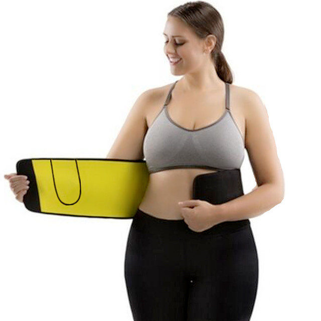 Premium Neoprene Waist Trimmer Belt Heat Sweat Slimming Body Shaper modeling belt Fat Burner waist trainer for Women underwear 1