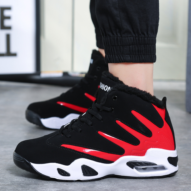 2019 Men's breathable mesh casual shoes men's sports shoes winter sports shoes outdoor walking air cushion to keep warm