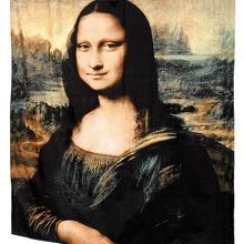 Home Fashions Mona Lisa Fabric Shower Curtain