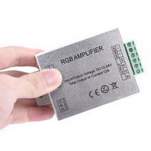 DC 12-24V LED RGB Amplifier For RGB LED Strip Power Repeater Console Controller(China)