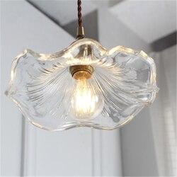 Prostota w stylu nordyckim restauracja ganek lampy lada barowa aleja szklana lotos mały kreatywny kwiat osobowości Hotel żyrandol