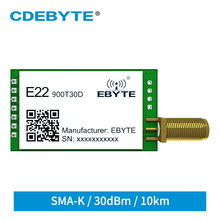 Transceiver-Receiver Lora-Module 915mhz 868mhz CDEBYTE Long-Distance SX1262 Wireless