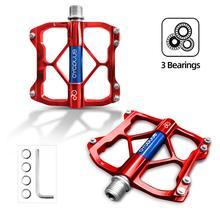 Pedals Bicycle Road-Bike CYCPLUS Mtb-Accessories Bicicleta Aluminium-Alloy Flat 3-Bearings