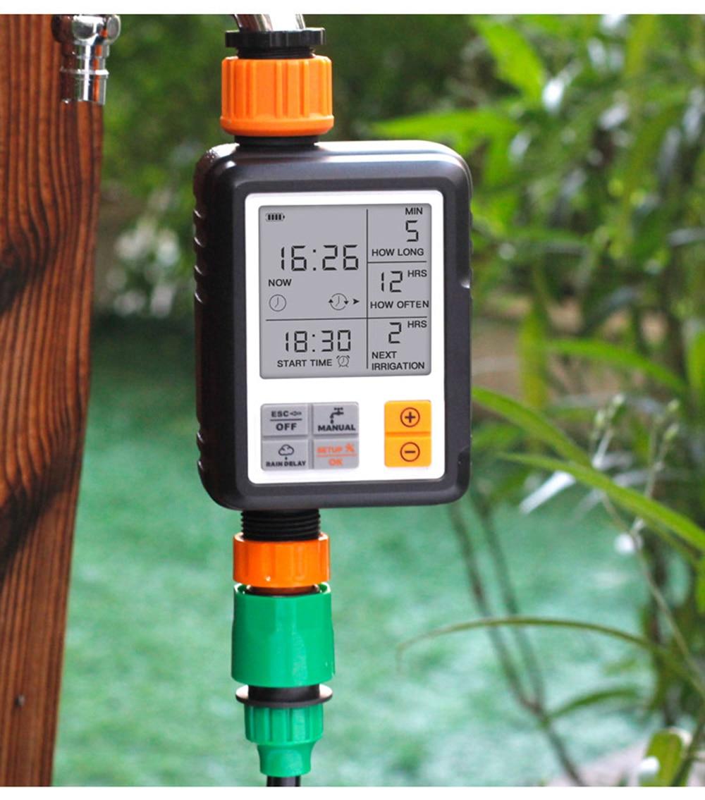 H7995cca8fbb8480e8203094554611f31j Garden Drip irrigation Hose Connector Spray Sprinkler Automatic Irrigation Garden Irrigation System Autowatering