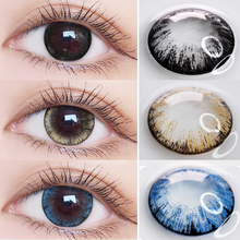 Jewelens Colored Contact Lenses Color Lens for Eyes Prescription Cosmetic Soft Large Diameter Maxiy Girl Series