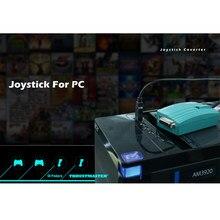 Usb a 15 pinos fêmea midi joystick jogo porta adaptador ninho conversor rockfire 15-p RM-203 gameport 98/me/2000/xp * fd047