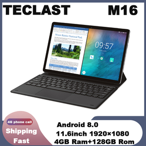 Tablet Teclast M16 11.6 cala 4G Phablet MT6797 ( X27 ) Android 8.0 1920*1080 2.6GHz Decore CPU 4GB 128GB 8.0MP + 2.0MP podwójny aparat