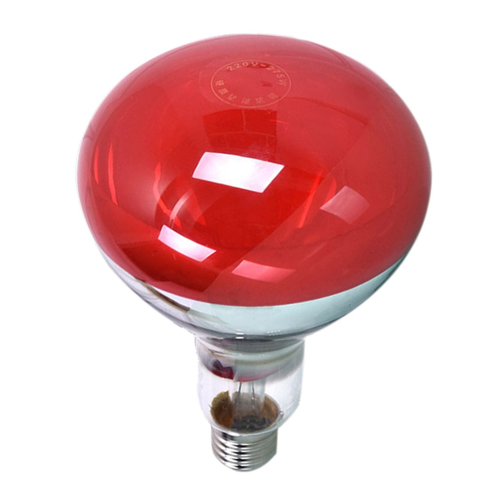 275W Infrared Heat Lamp Bulb For Therapy Health Pain Relief Therapeutic Lamp Portable Durable Lamp Bulb