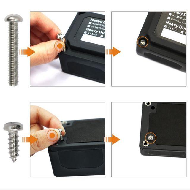 Heavy Duty 4 sposób data data powrotu (Bar/skrzynka rozdzielcza ze śrubą na Cover - 300A