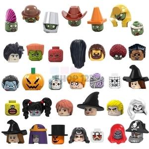 New Building Blocks Single Sale The Horror Theme Movie Coco Day Of The Dead Freddy Krueger Jason Scream Killer Children Gift Toy(China)
