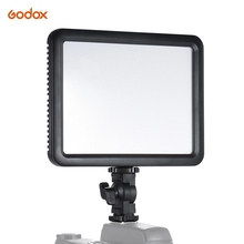 Godox LEDP120C Ultra thin 12W Dimmable LED Video Light Panel Fill in On camera Lamp 3200K 5600K Bi color Temperature Hot Shoe