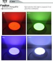 4pcs LED 18W 42W Resin Filled Pond Light Par56 12V Underwater Lights Lighting IP68 Waterproof RGB Fantastic Multi Color Changing