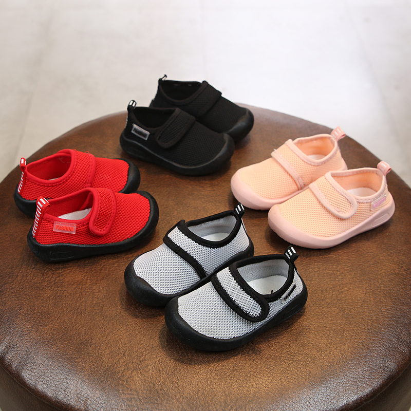 2019 Spring Infant Toddler Shoes Soft Bottom Baby Girls Boys Casual Shoes Non-slip Breathable Kids Children Mesh Shoes